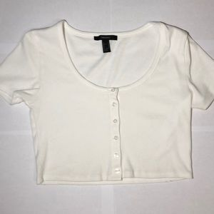 Forever 21 cropped Never Worn t-shirt